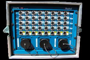 Splitter analogique 32 canaux pour enregistrer des concerts
