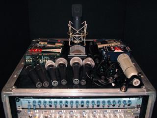 Notre parc micros complémentaire à ceux utilisés pour la sonorisation