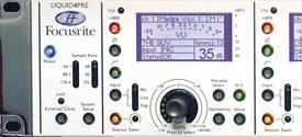 Préamplificateur numérique à convolution Focusrite Liquid4Pre